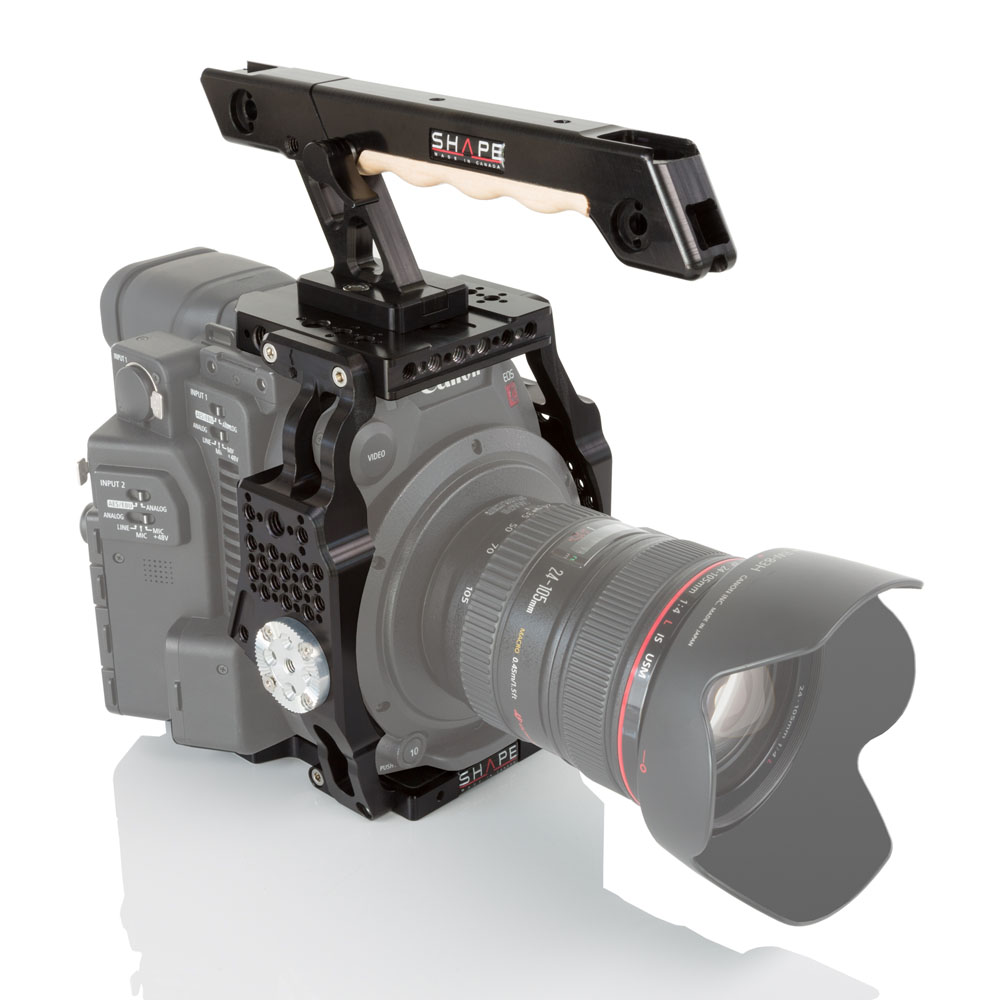 SHAPE Canon C200 Cage und Top Handle