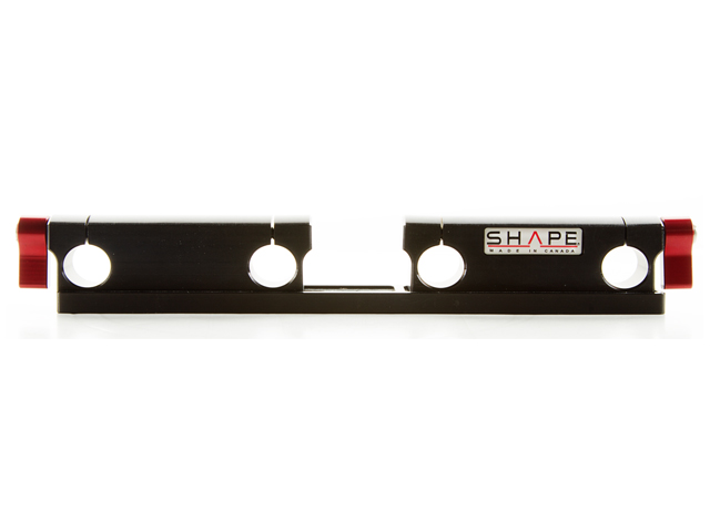 SHAPE Black Magic Offset Rail 15mm 2-Rod Bloc