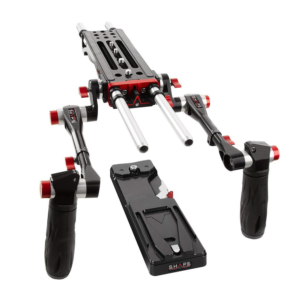 8000 V-LOCK QUICK RELEASE BASEPLATE (Without Handles)