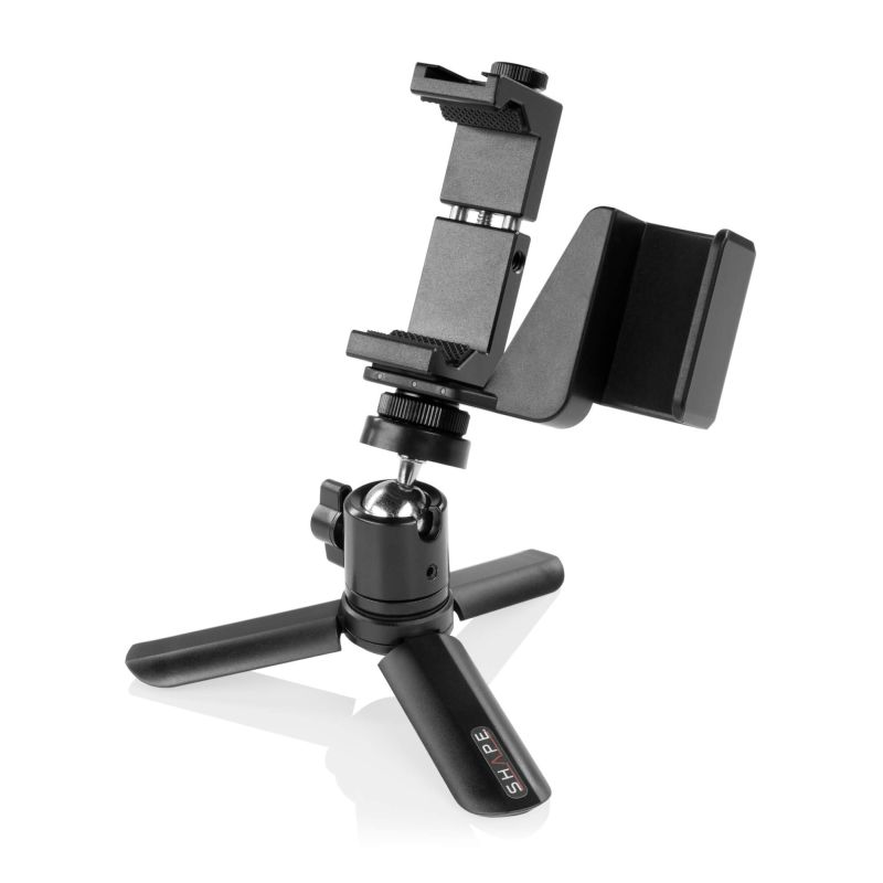 SHAPE security bracket connection with selfie grip tripod for osmo pocket