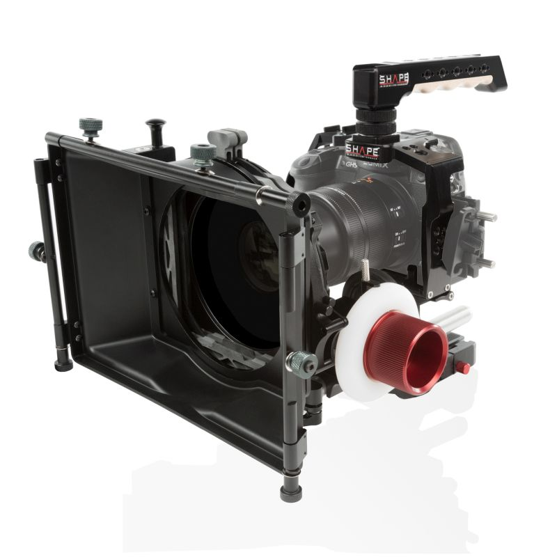 SHAPE PANASONIC GH5 CAGE MATTE BOX FOLLOW FOCUS