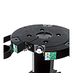 150mm flat base pedestal system for outside broadcast and studio use, payload 60kg